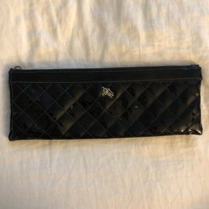 Burberry patent leather clutch